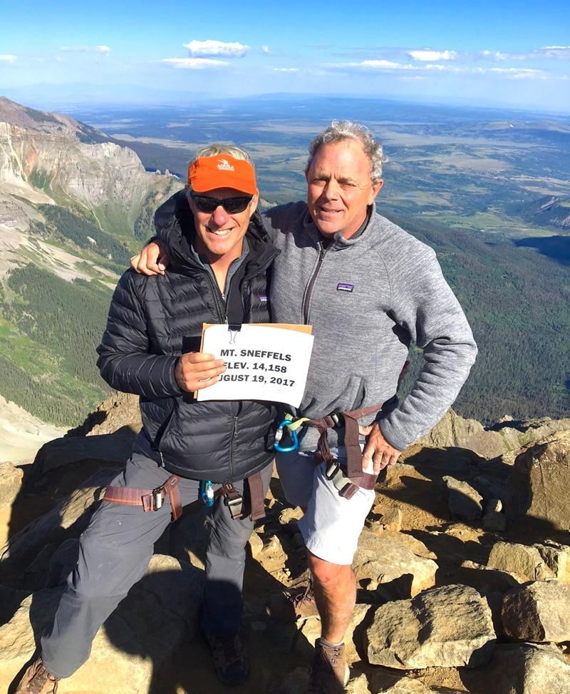Bart Matheney Mt. Sneffels Colorado