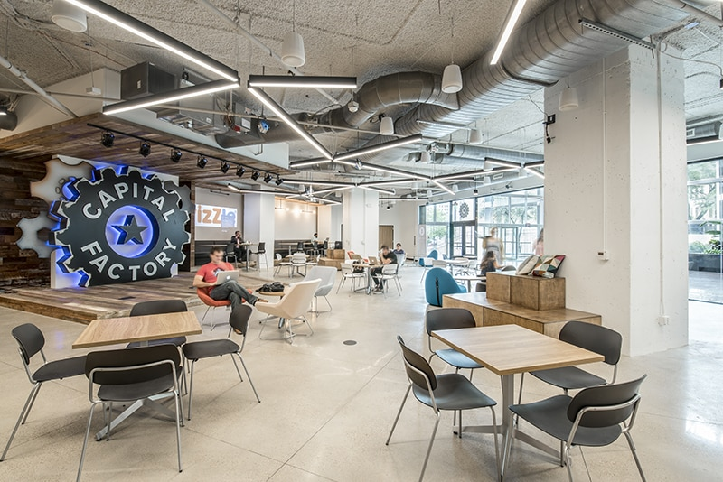 Capital Factory Creative Work Space Utilizes Wifi Networks