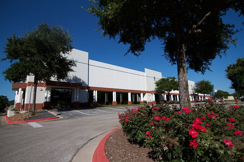 Landscaping is a part of CAM for Industrial Buildings | Tech Center Southwest in Austin, TX
