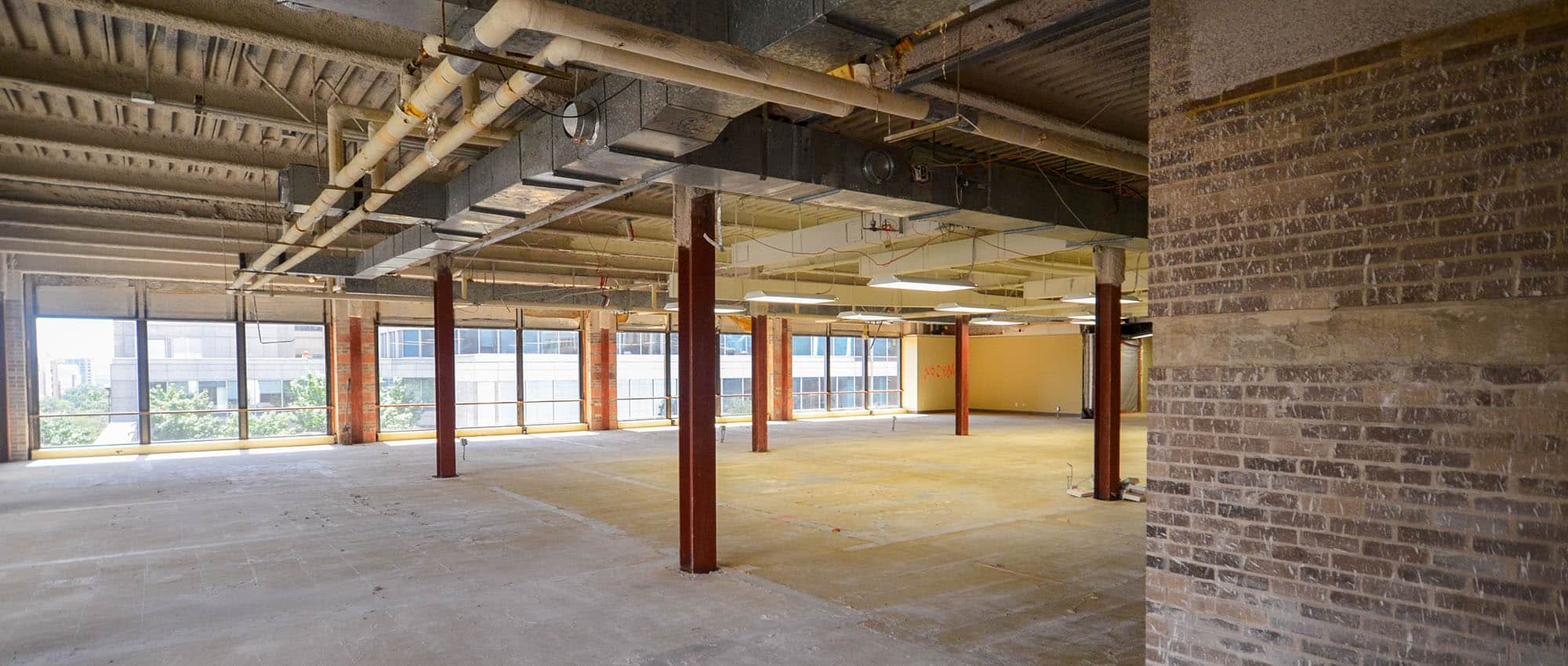 Shell Office Space in Austin Texas | Office Build Out or Renovation