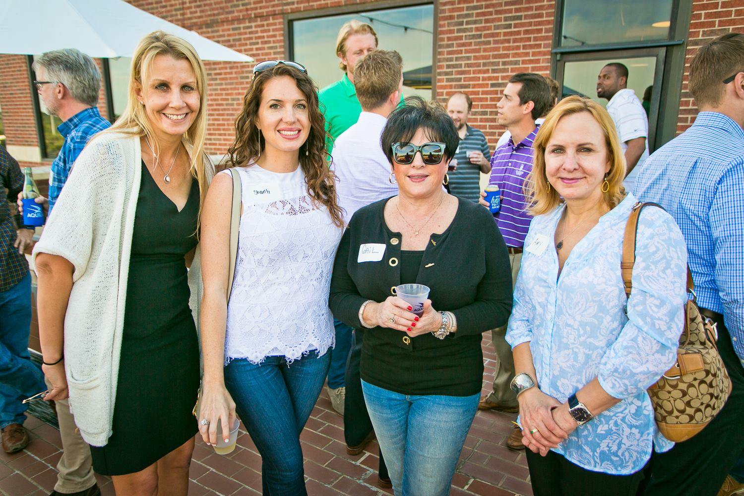 Kristi Svec Simmons at an AQUILA Commercial Client Appreciation Event