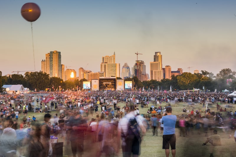 Austin City Limits Music Festival | What to do in october