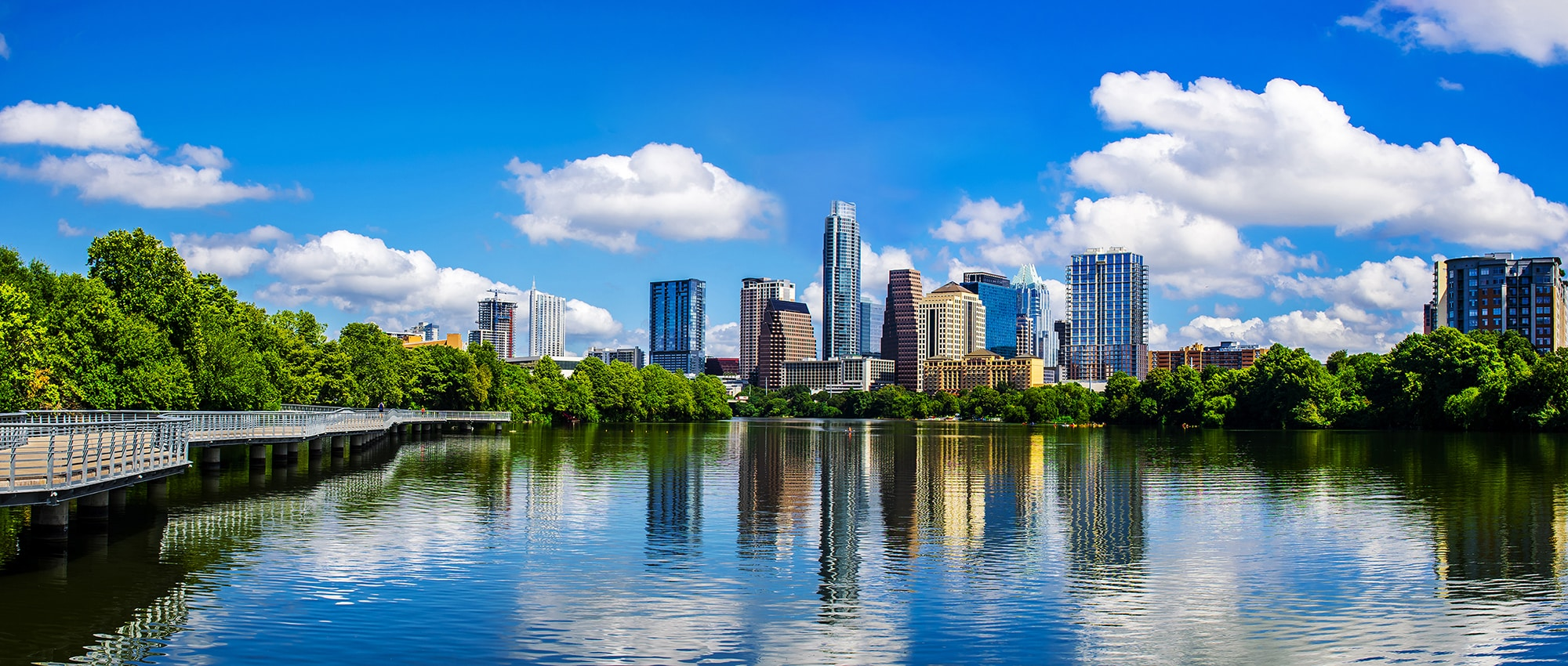 Austin Skyline | AQUILA Commercial - Local Austin Commercial Real Estate Firm