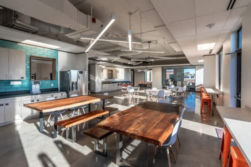 Zello Office Interior at Hartland Plaza in Austin, TX