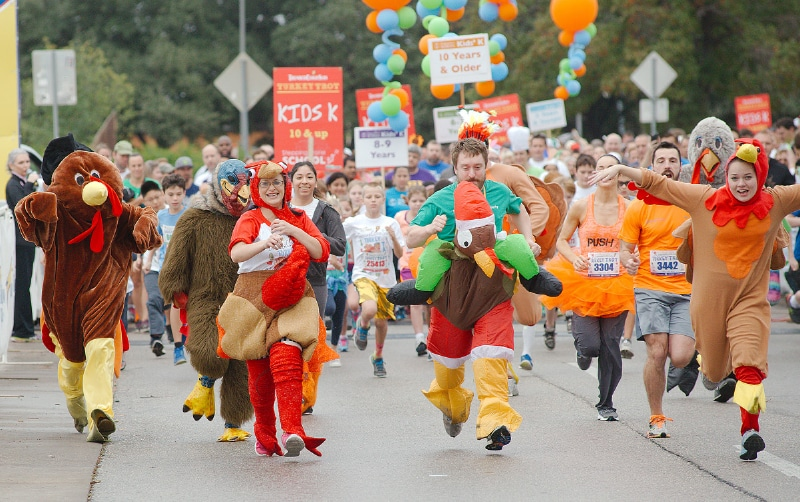 Austin Turkey Trot | What to do in November in Austin, TX