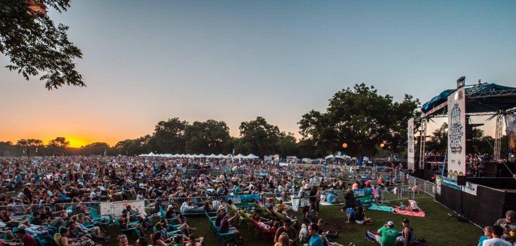 Blues on the Green in Austin, Texas | What to do this summer