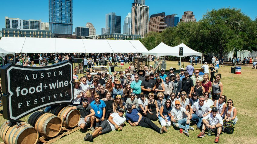 Austin Food and Wine Festival | What to do in April