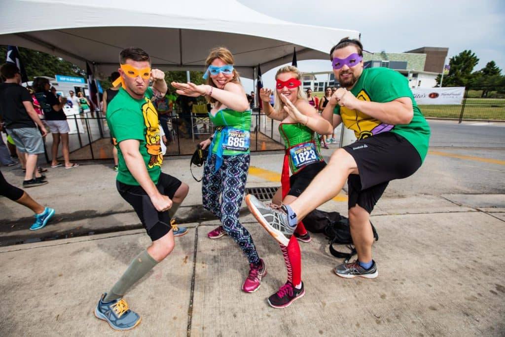 Costumes are encouraged at this just-for-fun 5K. Photo courtesy of Fun Stop 5K.