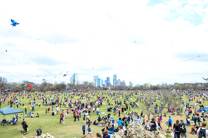 Austin Kite Festival | What to do in Austin, Texas in March