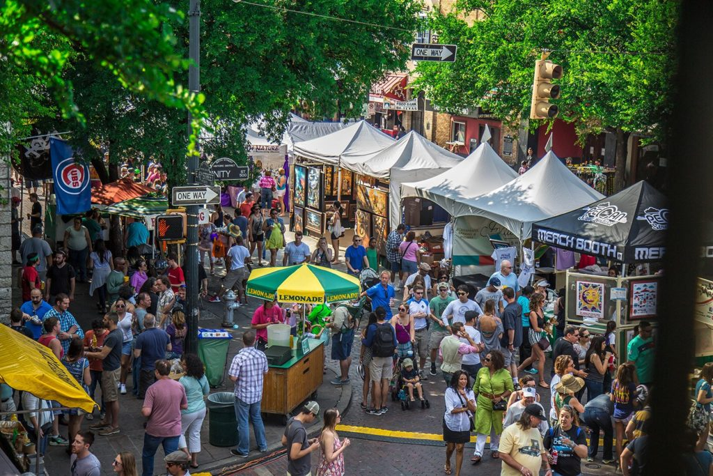 Pecan Street Festival in Austin, Texas | What to do in May