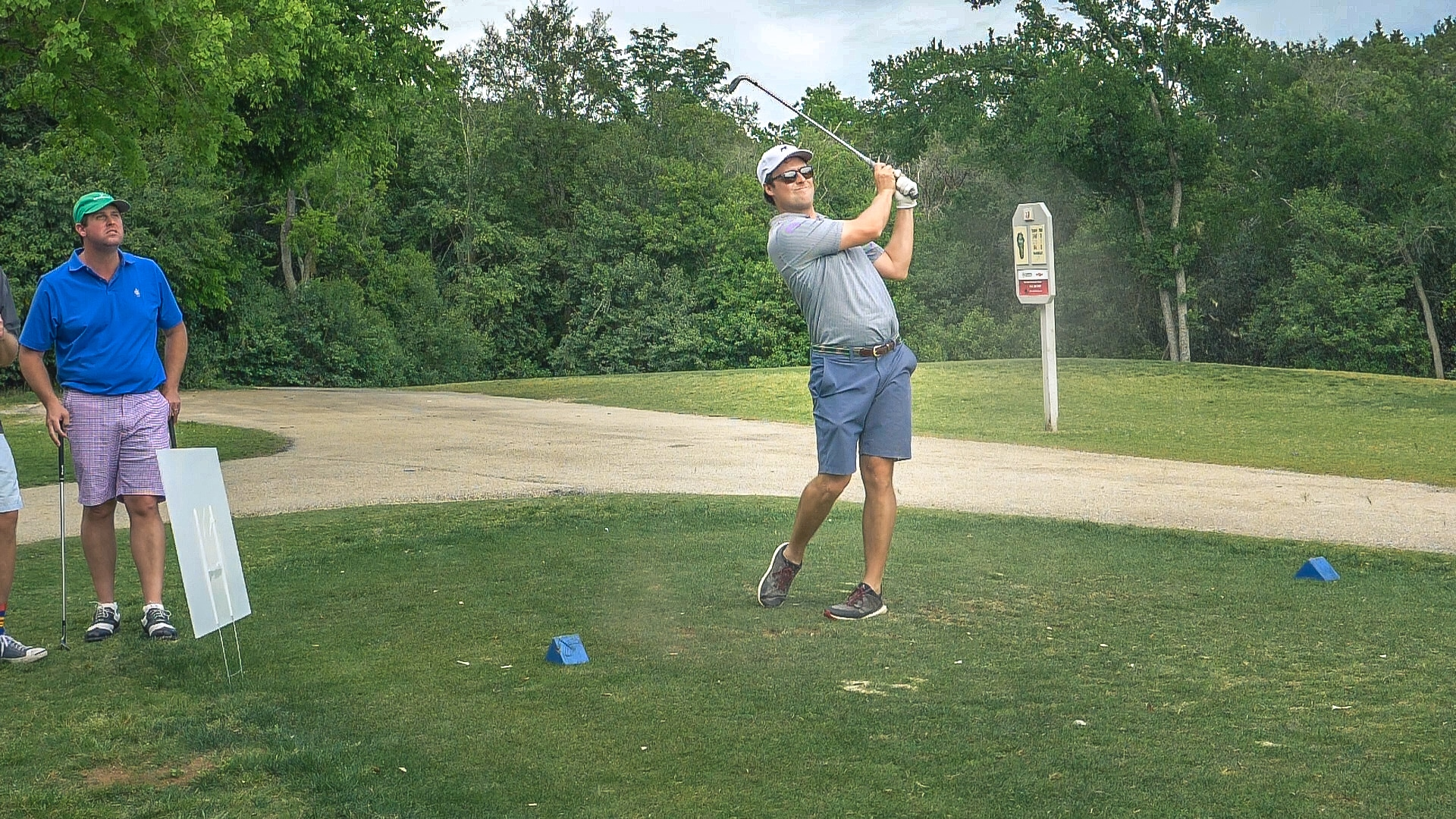 Ben Tolson Golfing in Austin, Texas