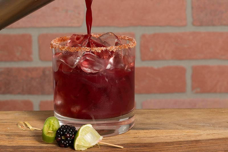 Tex Mex Recipes from AQUILA Commercial Cookbook | Blackberry Margarita