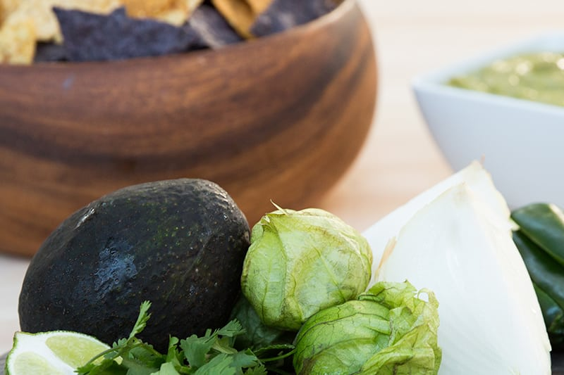 Tomatillo Avocado Salsa | Tex Mex Recipes from AQUILA's Cookbook