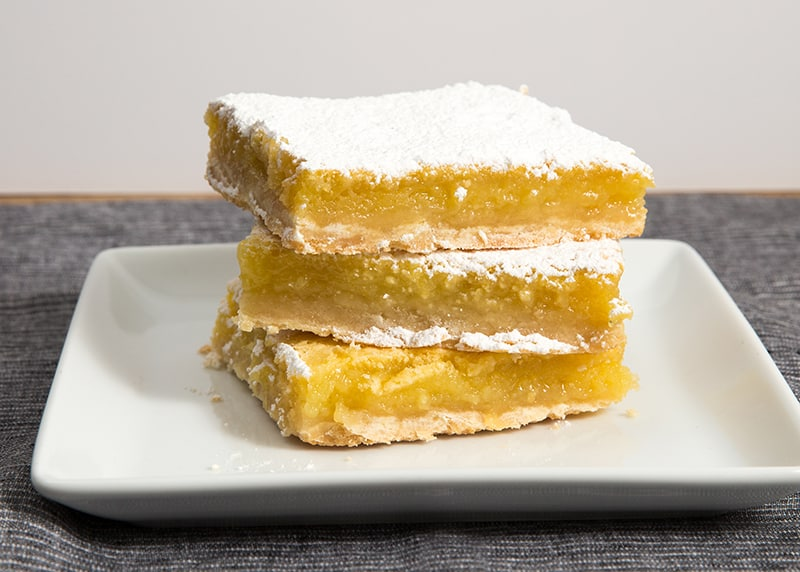 Lemon Bar Recipe for the 4th of July!