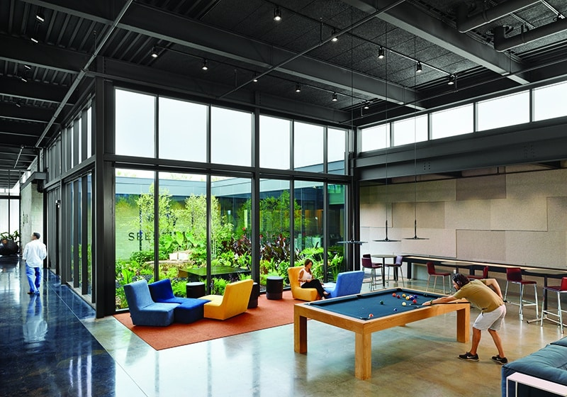 Large Communal Space in Dense Office   Austin, Texas