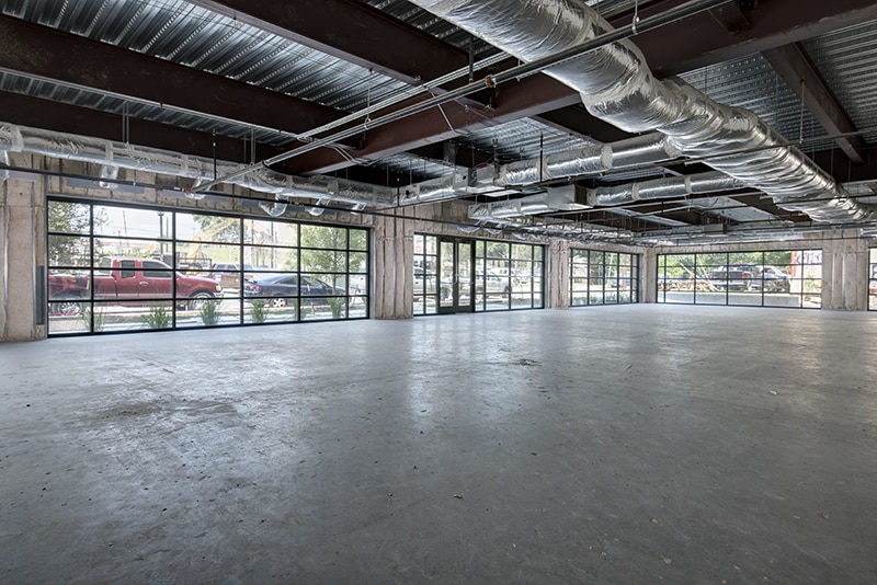 Commercial Real Estate | Shell Space Example | Office Build Out
