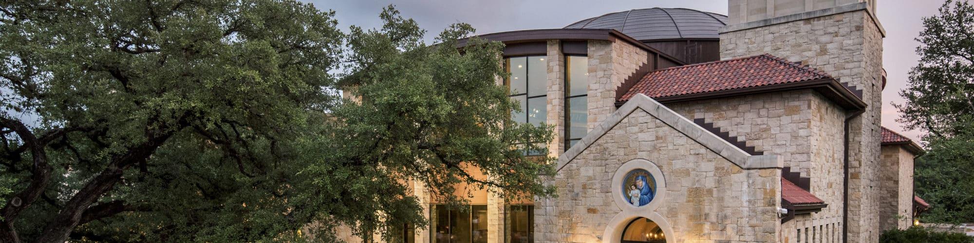 St. John Neumann Catholic Church | Exterior - AQUILA Project Management Case Study
