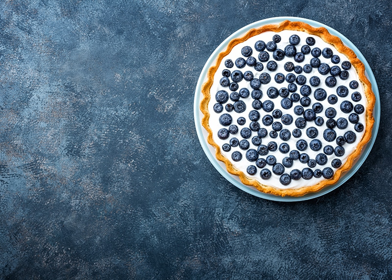 patriotic blueberry pie recipe for 4th of July