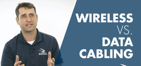 Save Money on Your Office Finish-Out by Going Wireless (Wireless v. Data Cabling)