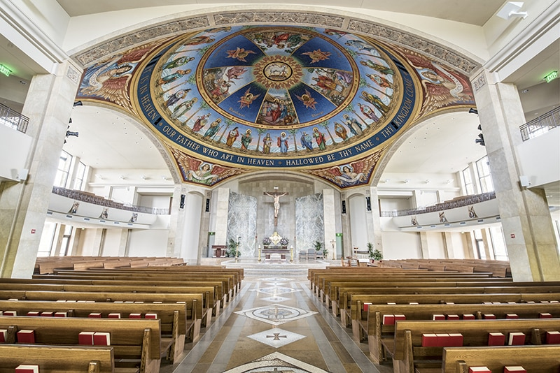 St. John Neumann Renovated Sanctuary Space | Project Managed by AQUILA