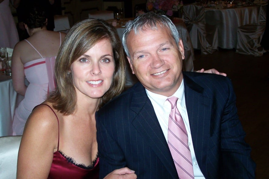 Mike and his wife, Natalie