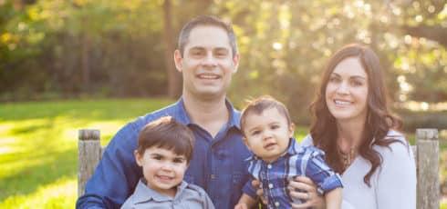 Bethany Perez and her family