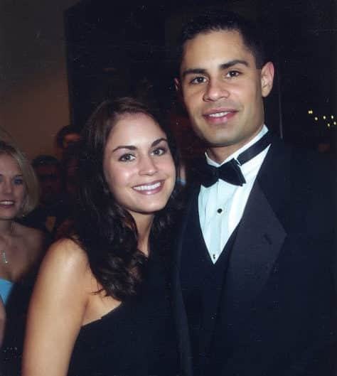 Bethany and (her now husband) Dave, at a formal in college in 2003.