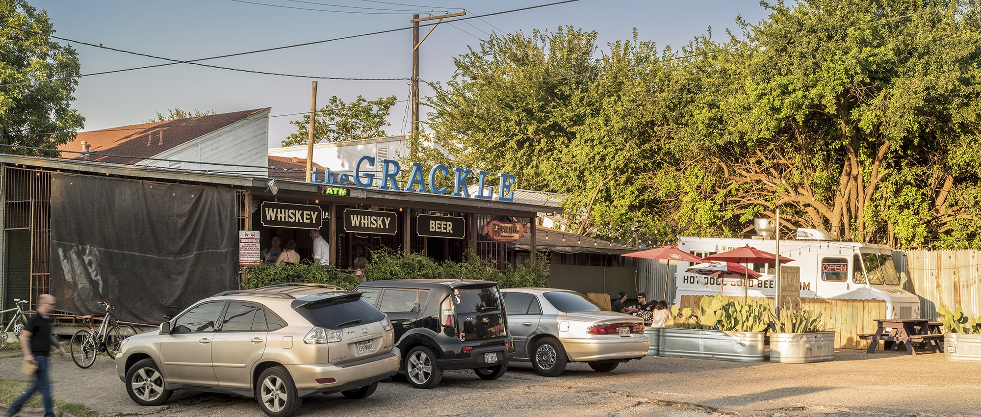 The Grackle in east Austin, Texas