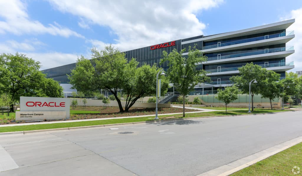 The Oracle Campus in Austin, Texas