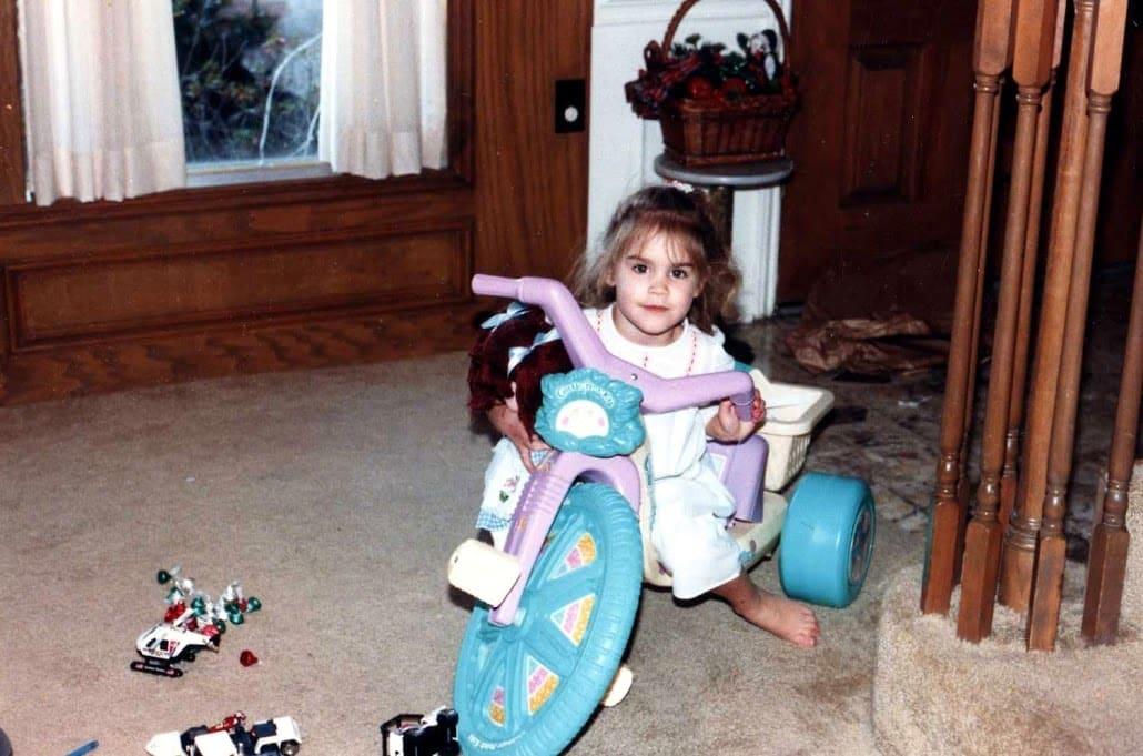4-year-old Bethany Perez in Houston, Texas.