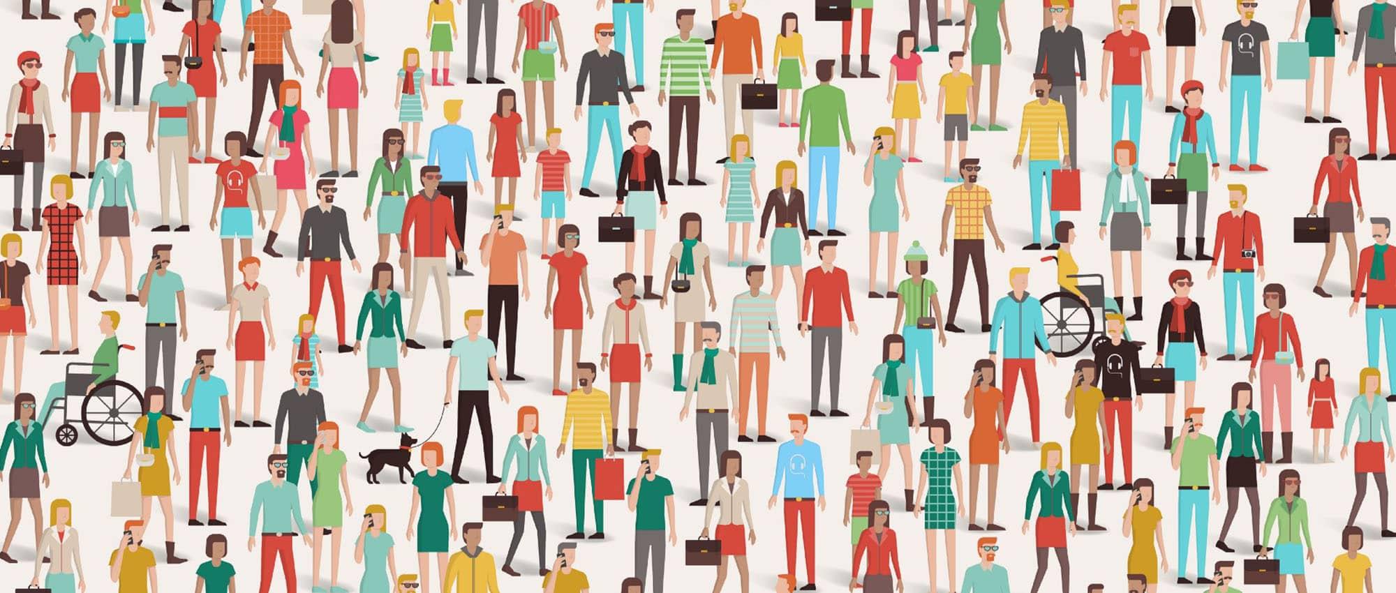 Austin Demographics Illustration