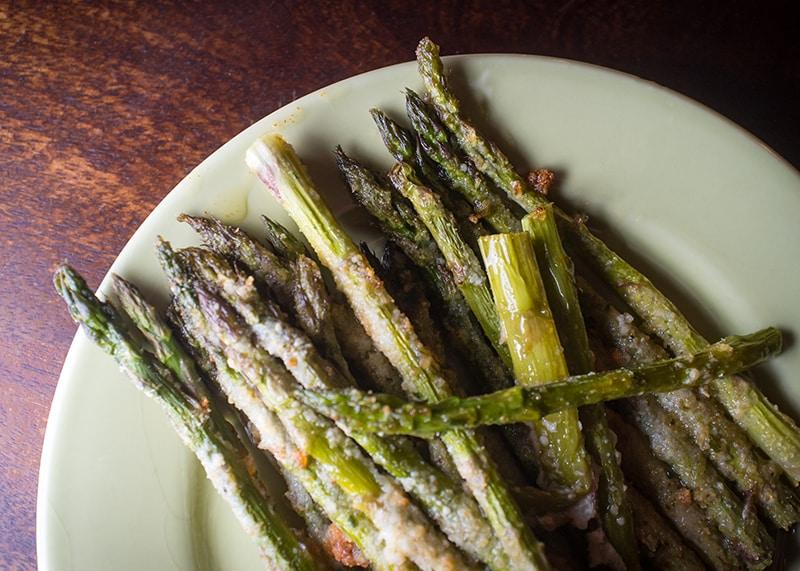 Parmesan Asparagus | Thanksgiving Side Recipes from AQUILA