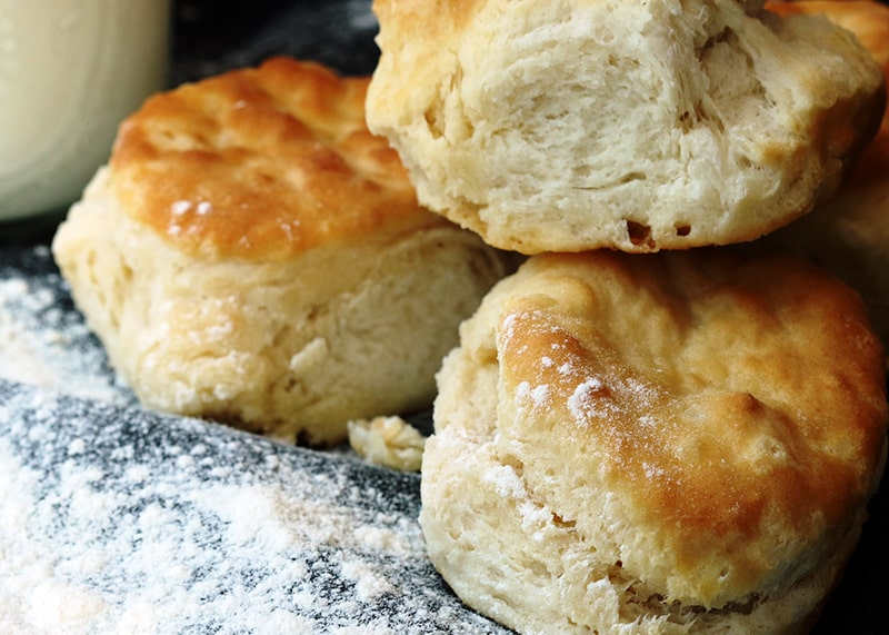 Buttermilk Biscuits | Thanksgiving side recipes from AQUILA