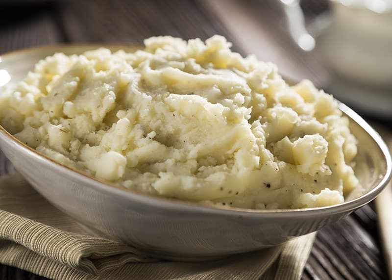 Mashed Potatoes | Thanksgiving side recipes from AQUILA