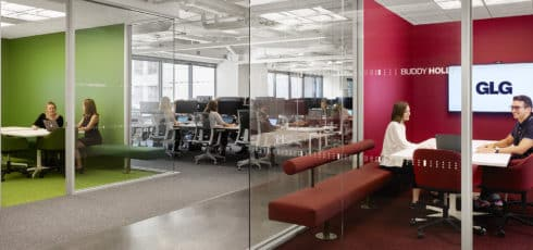GLG Office Build Out in Austin, Texas by AQUILA Project Management