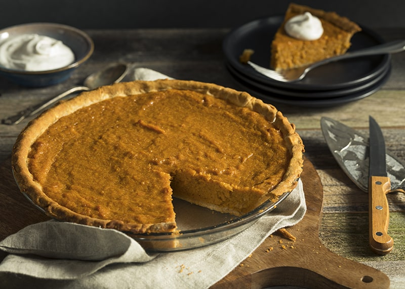 Pumpkin Pie | Thanksgiving side recipes from AQUILA