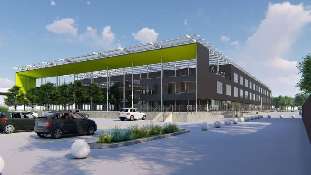 618 Tillery Street Office Redevelopment in East Austin