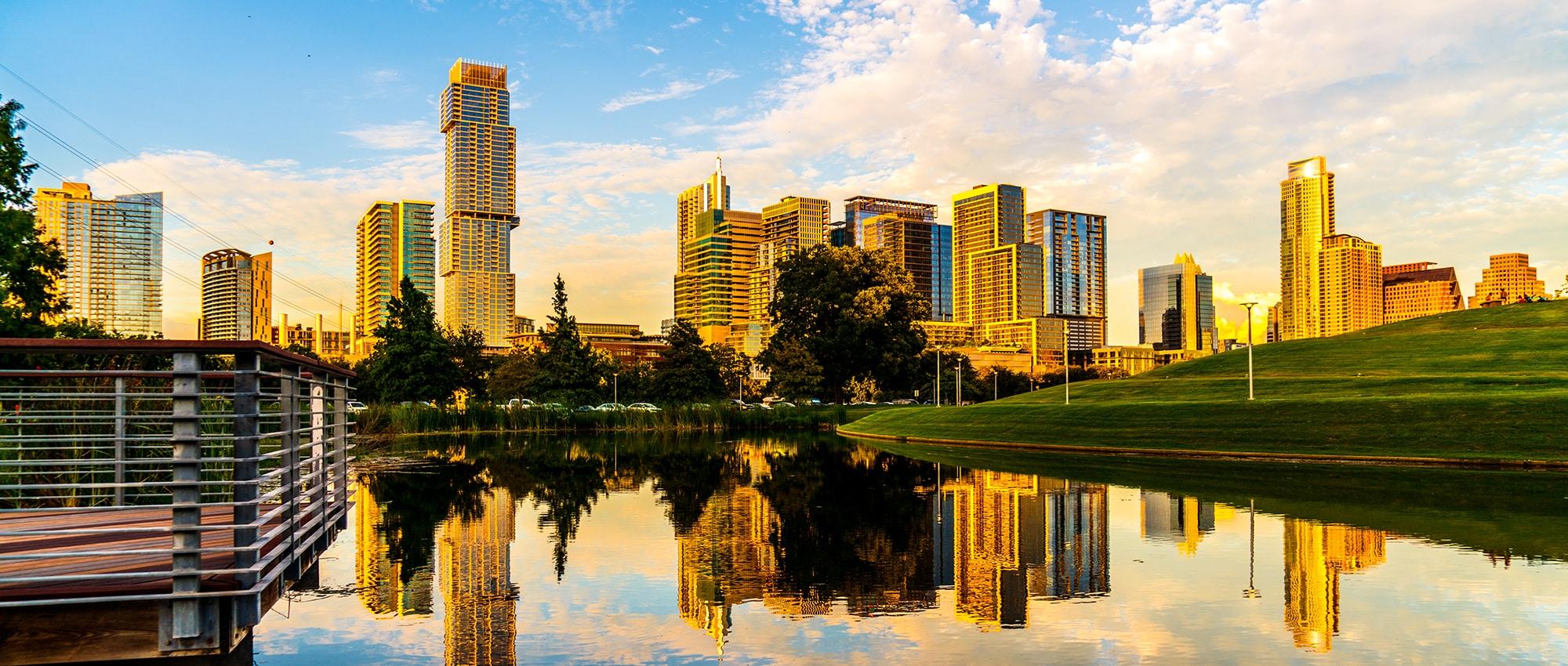 Austin Skyline   5 Commercial Real Estate Property Sales 2018
