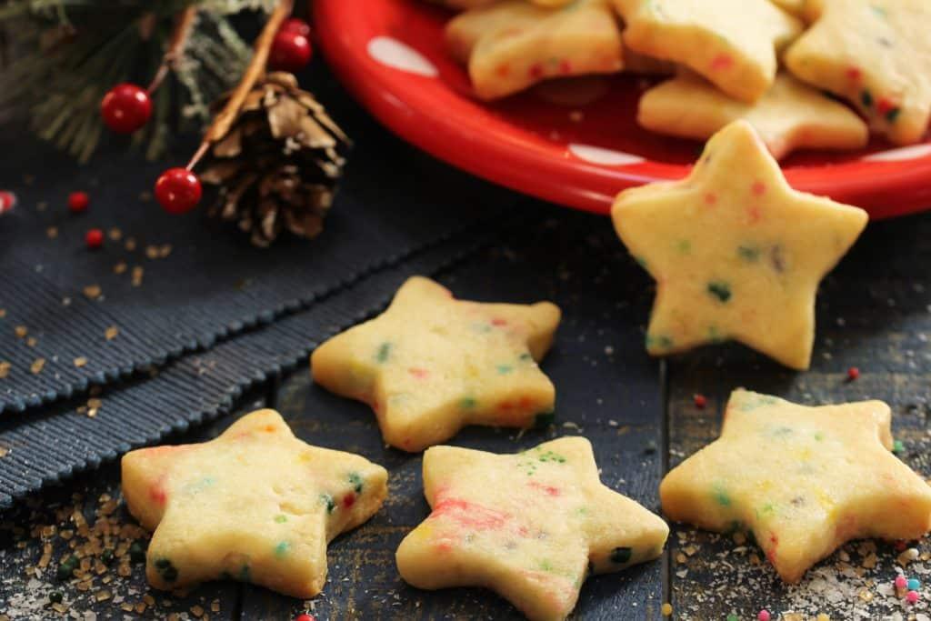 Funfetti Shortbread Bites | AQUILA Christmas Recipes