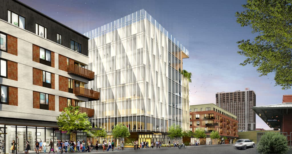 Plaza Saltillo Redevelopment in East Austin | Google Office Tower