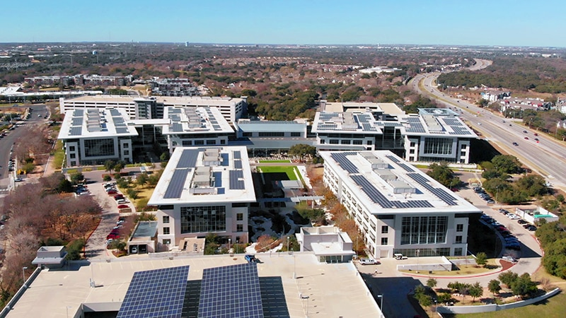Apple's Austin Campus at Parmer Riata