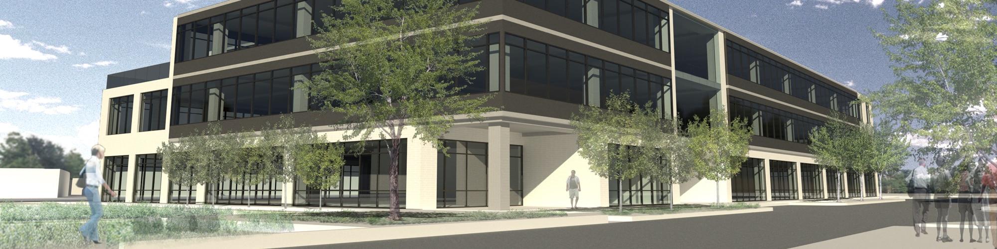 Eastlake at Tillery Office Development on East Cesar Chavez in Austin