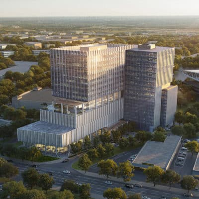 Arena Tower | Class A Office Space for Lease Near the Domain