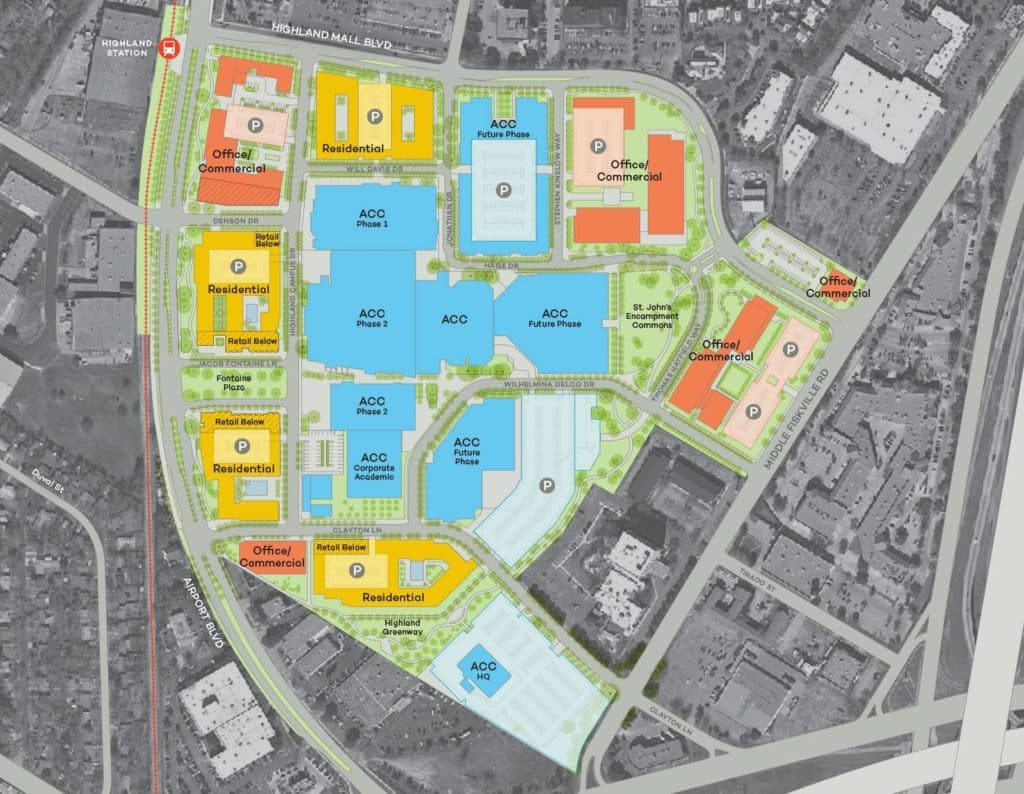 ACC Highland Site Plan