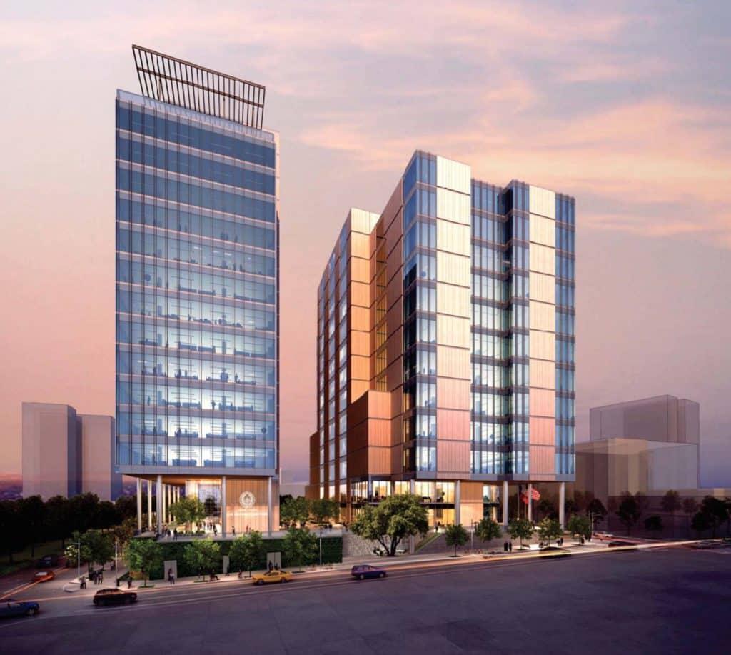 Austin, Texas new courthouse development