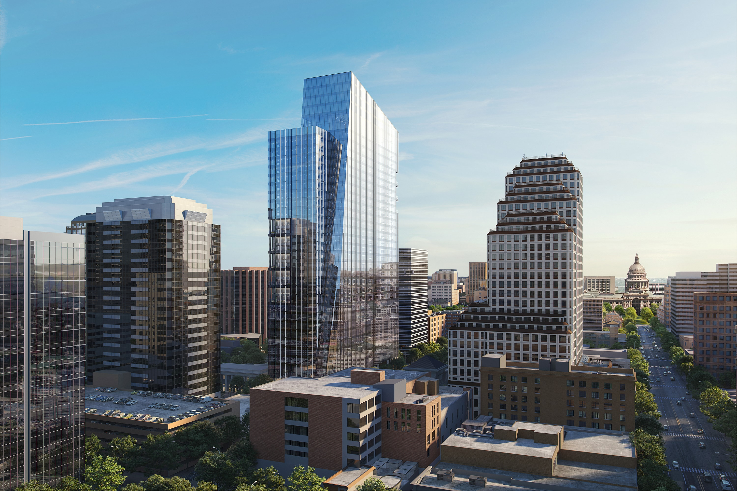 200 West 6th Street Rendering by Devisual