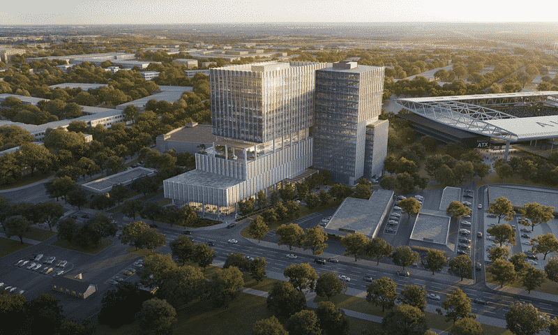 Arena Tower Rendering by Devisual