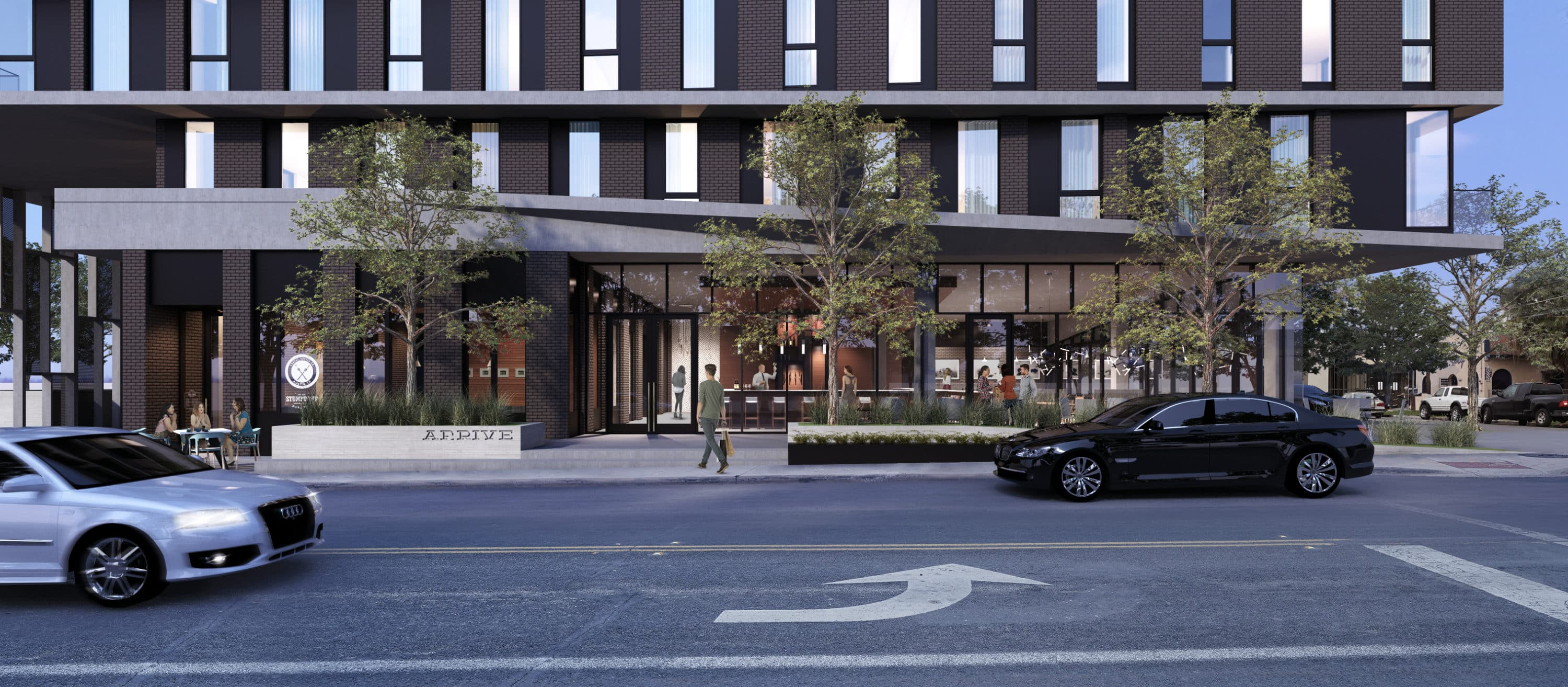 Arrive Hotel by Frost Visualizations