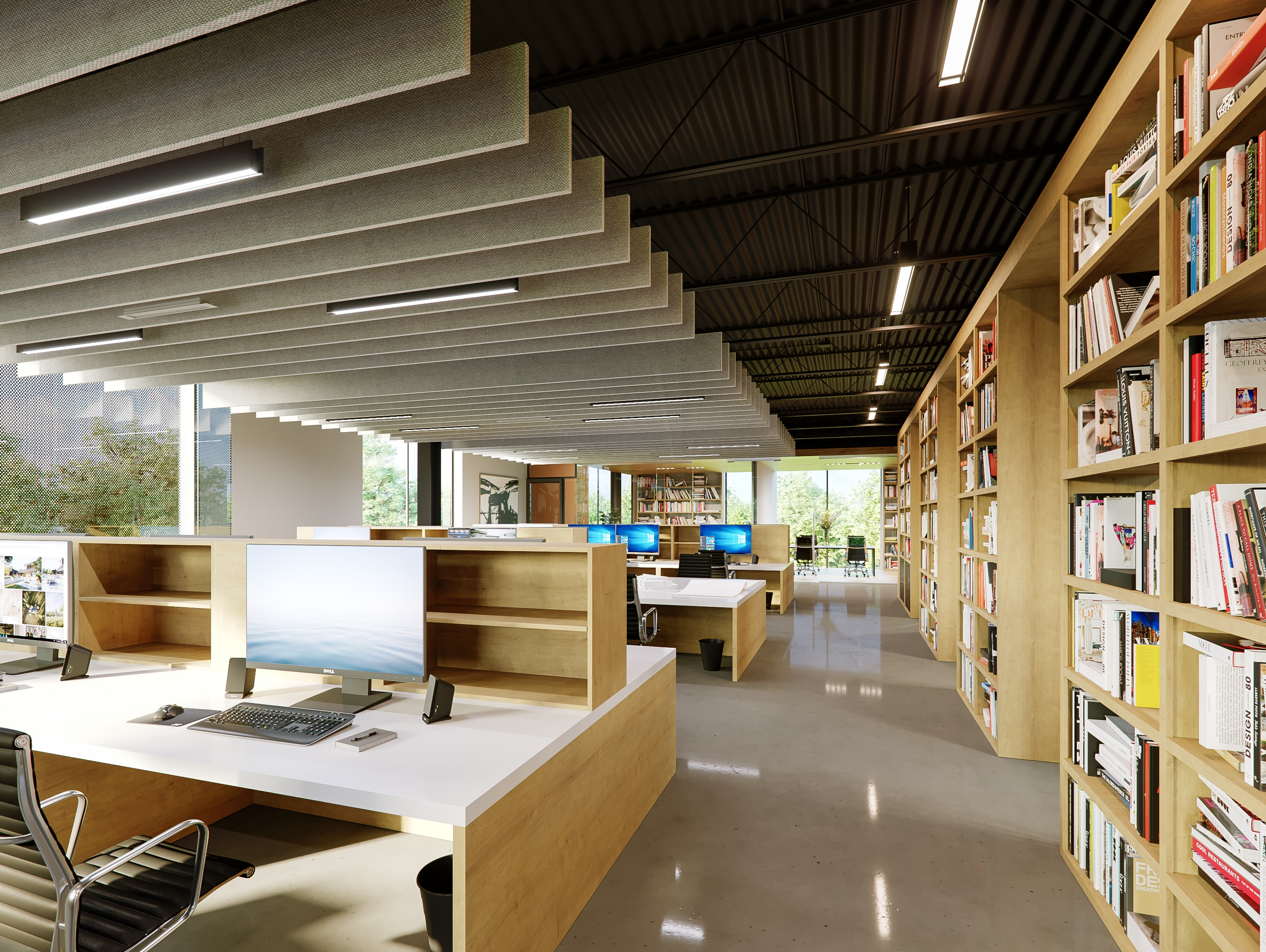 Bercy Chen Studio by Frost Visualizations