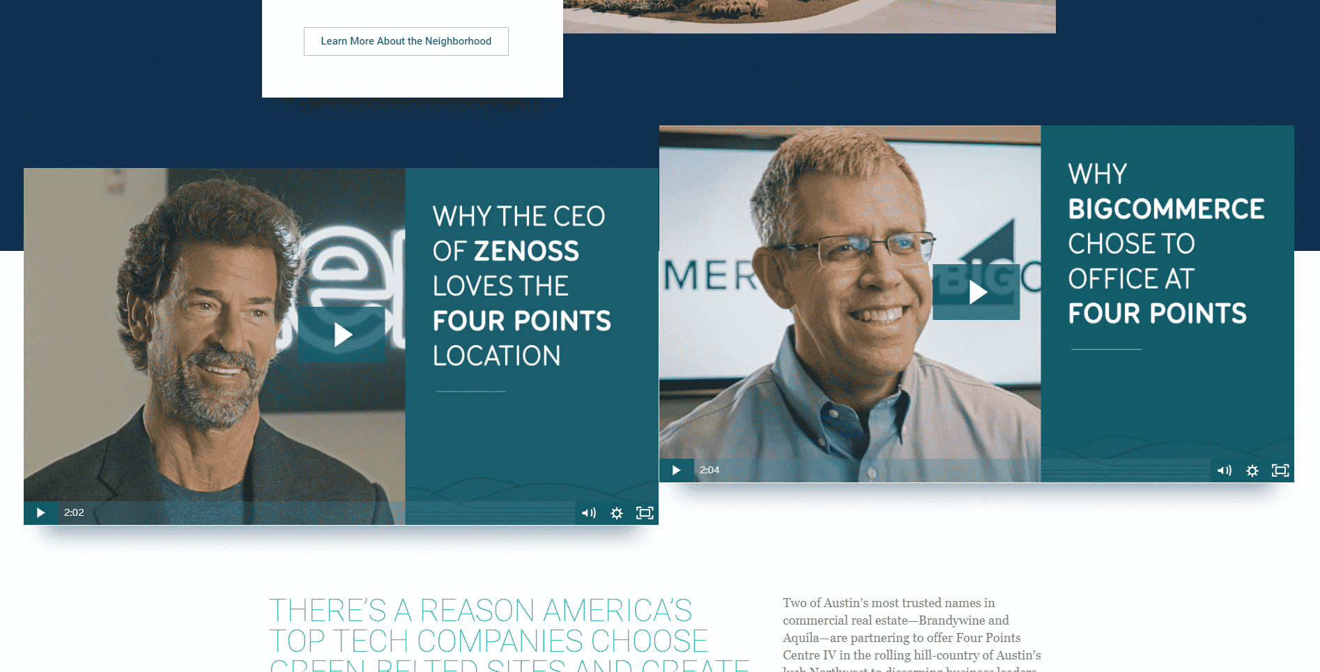 Four Points Centre IV Website Testimonials | 7 Things That Should Be on Your Property Website